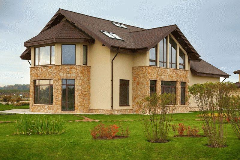 Краски для деревянных фасадов домов