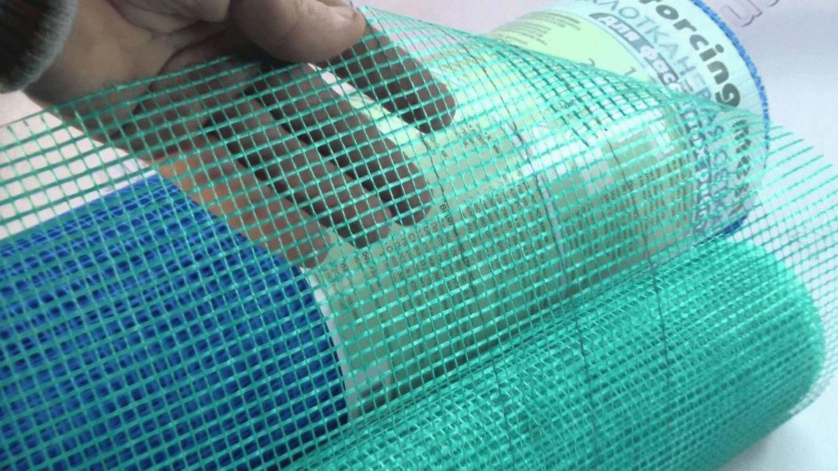 сетка для штукатурных работ пластиковая