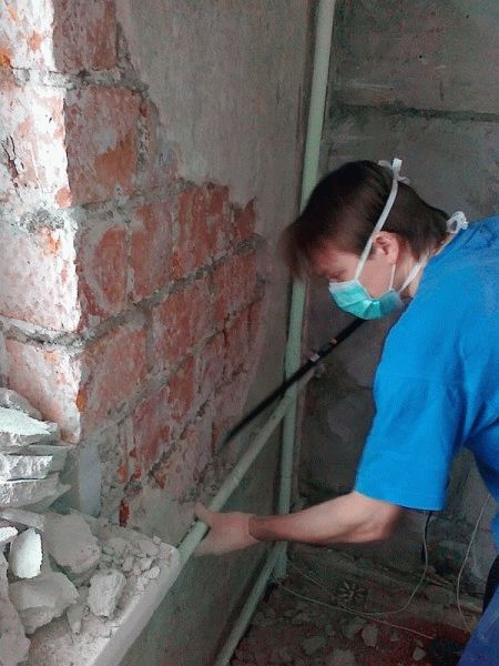 Крепление утеплителя к стене - Лучшие фасады частных домов