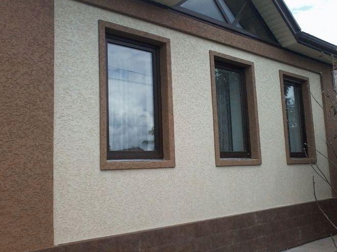 многообразия фасадная штукатурка дождик фото домов совершения выгодной